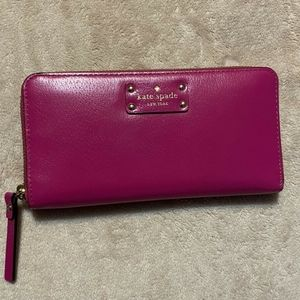 ** NEW** Kate Spade Berry Colored Wallet